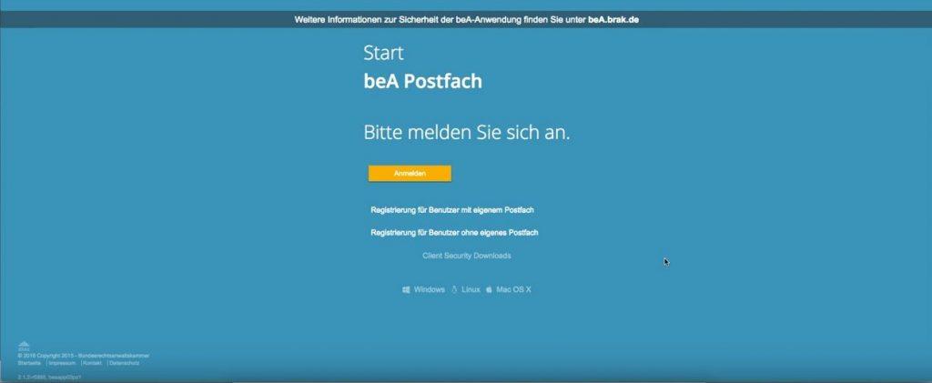 beA Postfach einrichten | Stolperfallen und Tipps