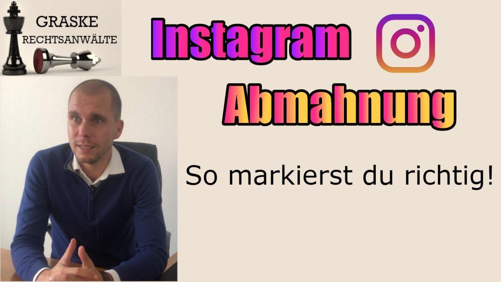 Abmahnungen auf Instagram