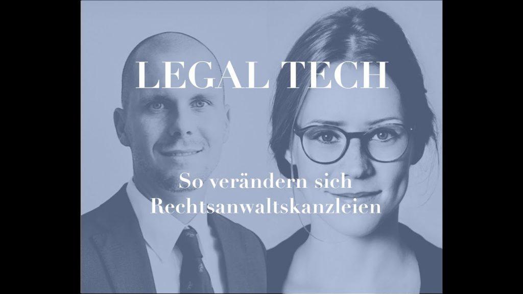 legal tech - so verändern sich rechtsanwaltskanzleien