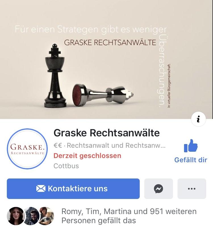 Facebook Graske Rechtsanwälte