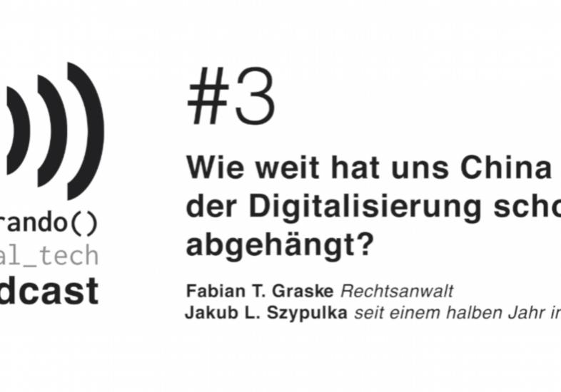 Hat China Deutschland bei der Digitalisierung schon uneinholbar abgehängt?